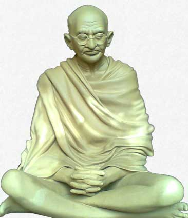 Mahatma Gandhi - Sitting Model